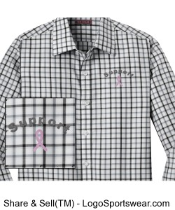 Red House Men's Non-Iron Tricolor Check Shirt Design Zoom
